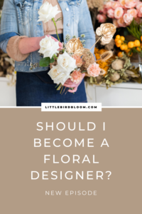 should i become a floral designer