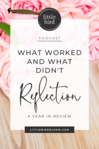 a year in review for florists