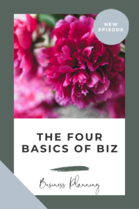 the four basics of business for florists