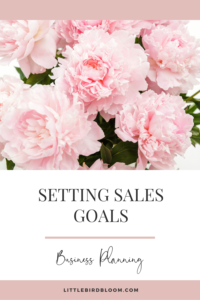 how to write a business plan for floral designers