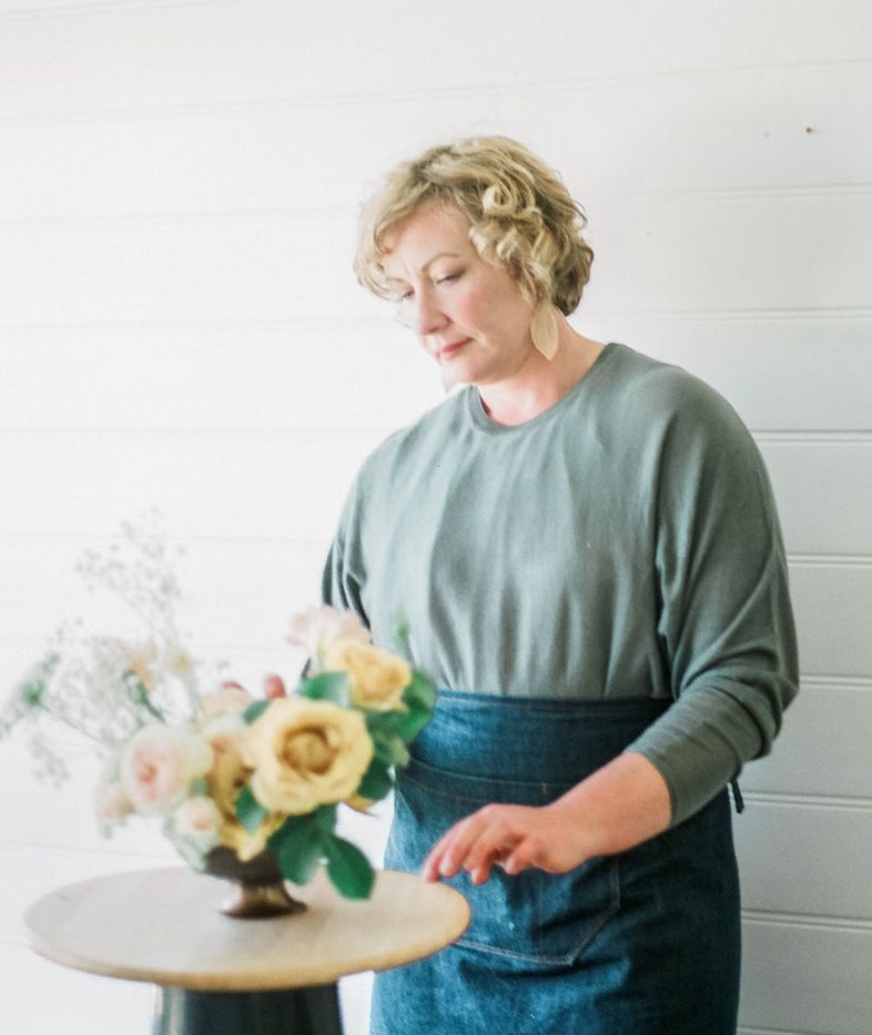 kathleen teaches floristry and floral design