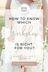 blog post which workshop is right for you