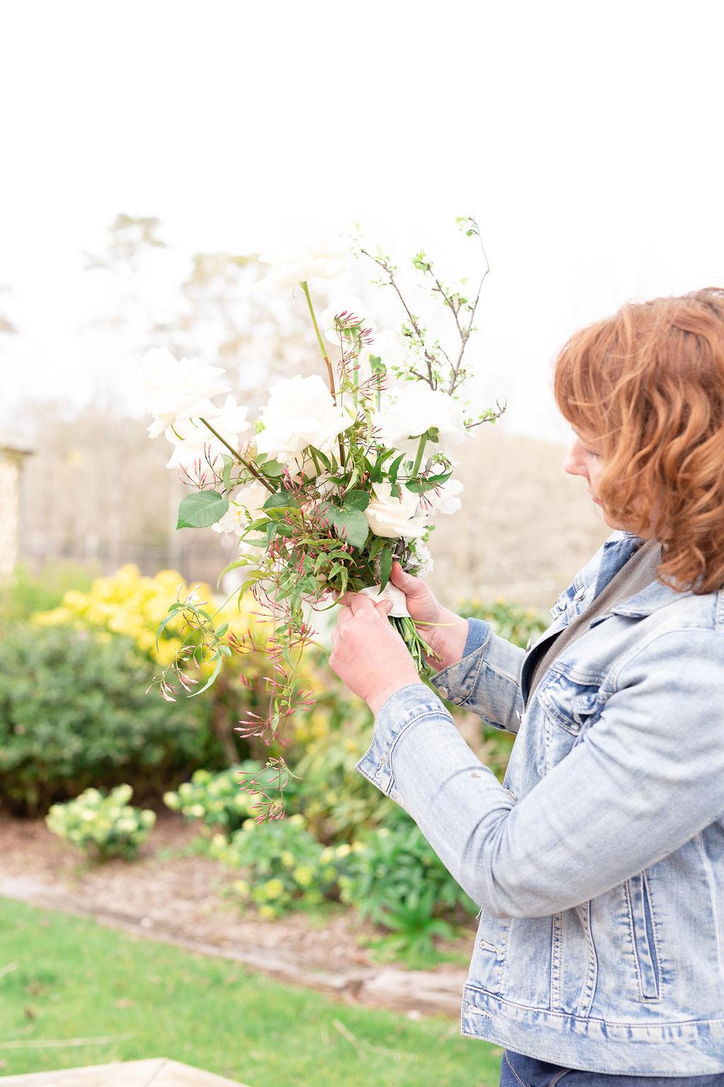kathleen floral designer bouquet finish