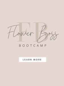 flower boss bootcamp