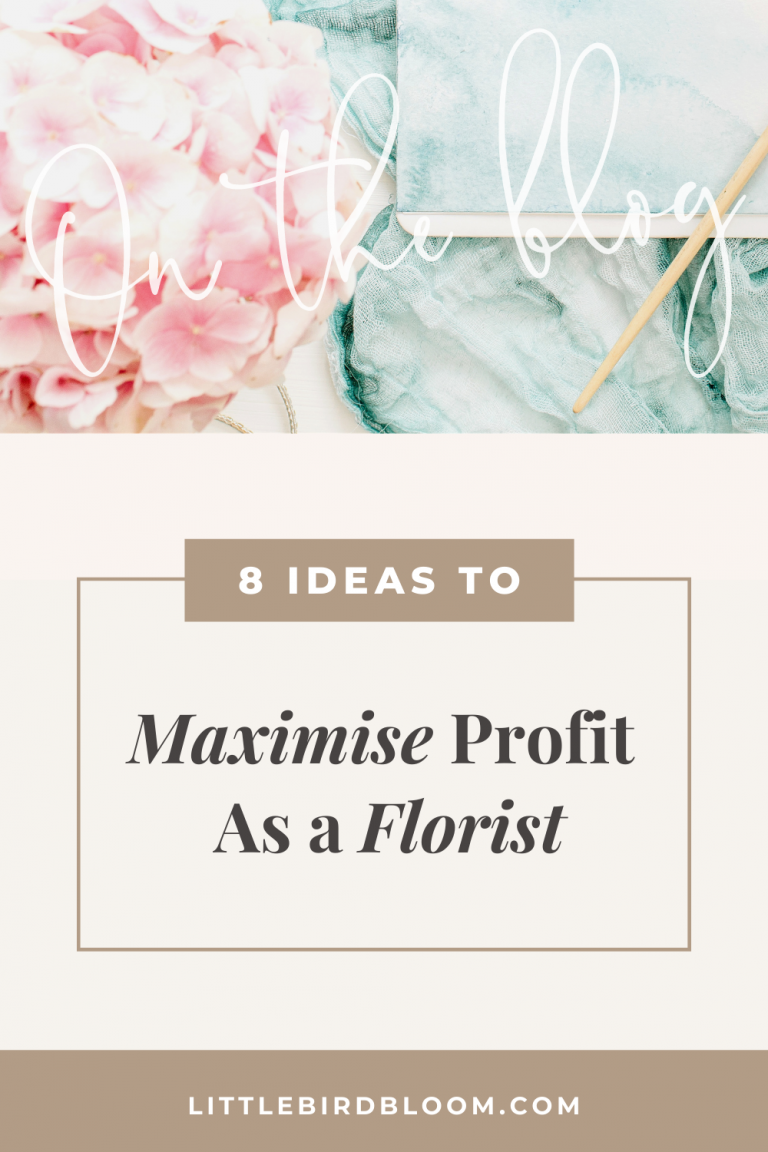 blog post ideas to maximise profit in your flower business