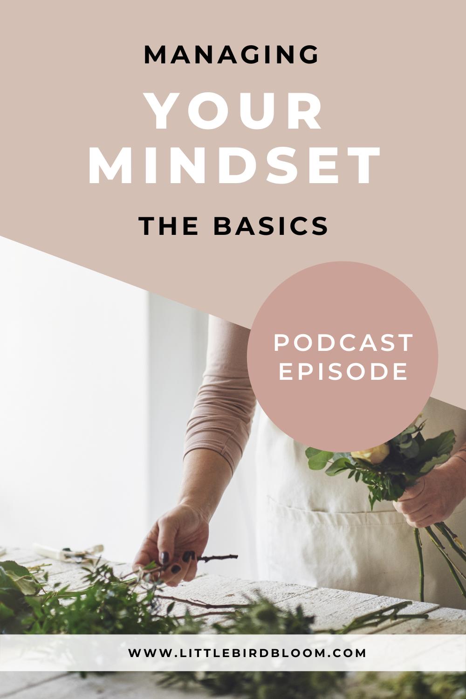 managing your mindset for floral designers