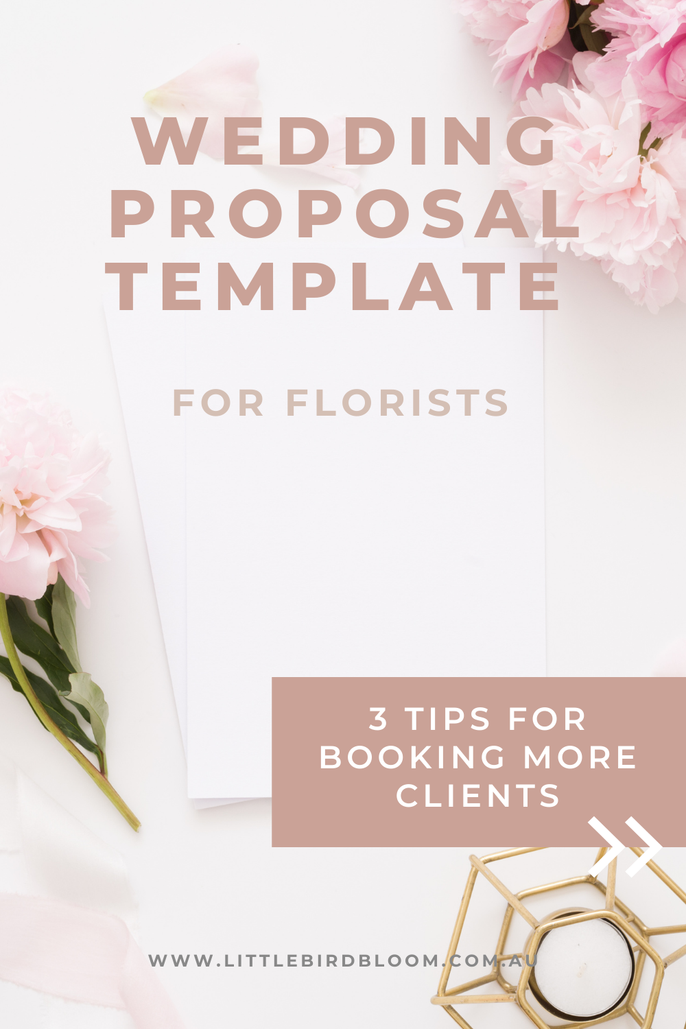 Wedding Proposal Template for Florists