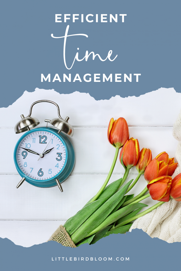 What are some good time management skills?