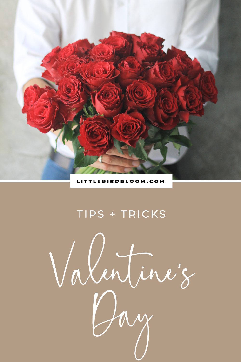 how to make money as a florist on Valentine's Day
