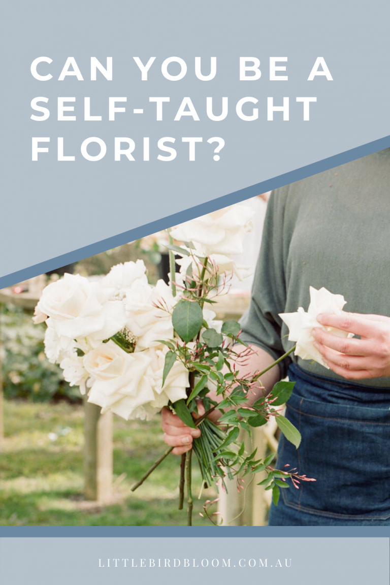 BLOG POST: CAN YOU BE A SELF TAUGHT FLORIST?