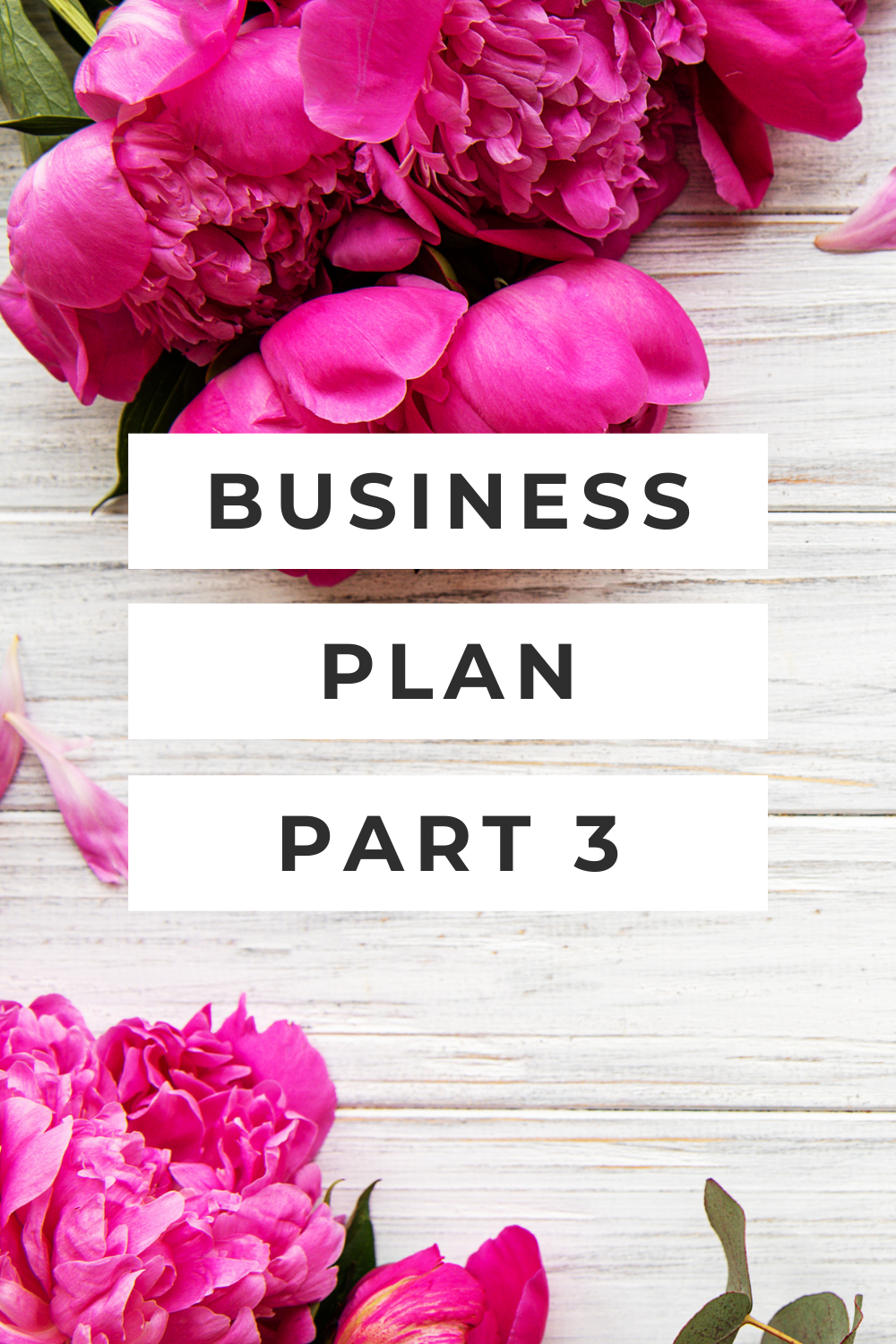 business plan part 3 podcast business for florists