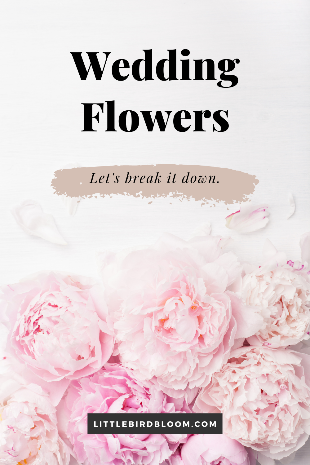 why do wedding flowers cost so much