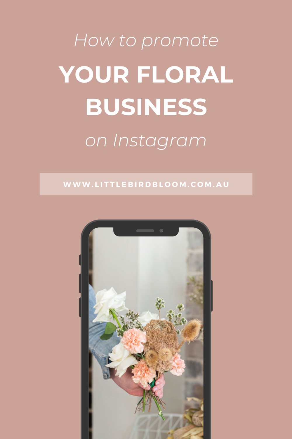 How to promote your flower business on Instagram