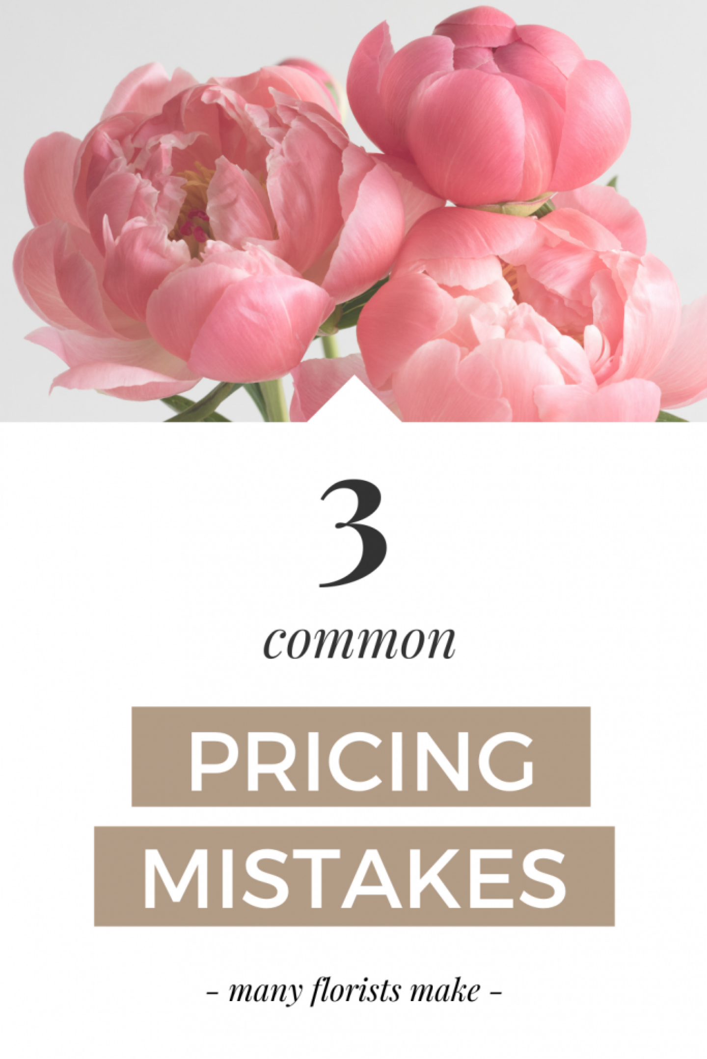 florist pricing mistakes