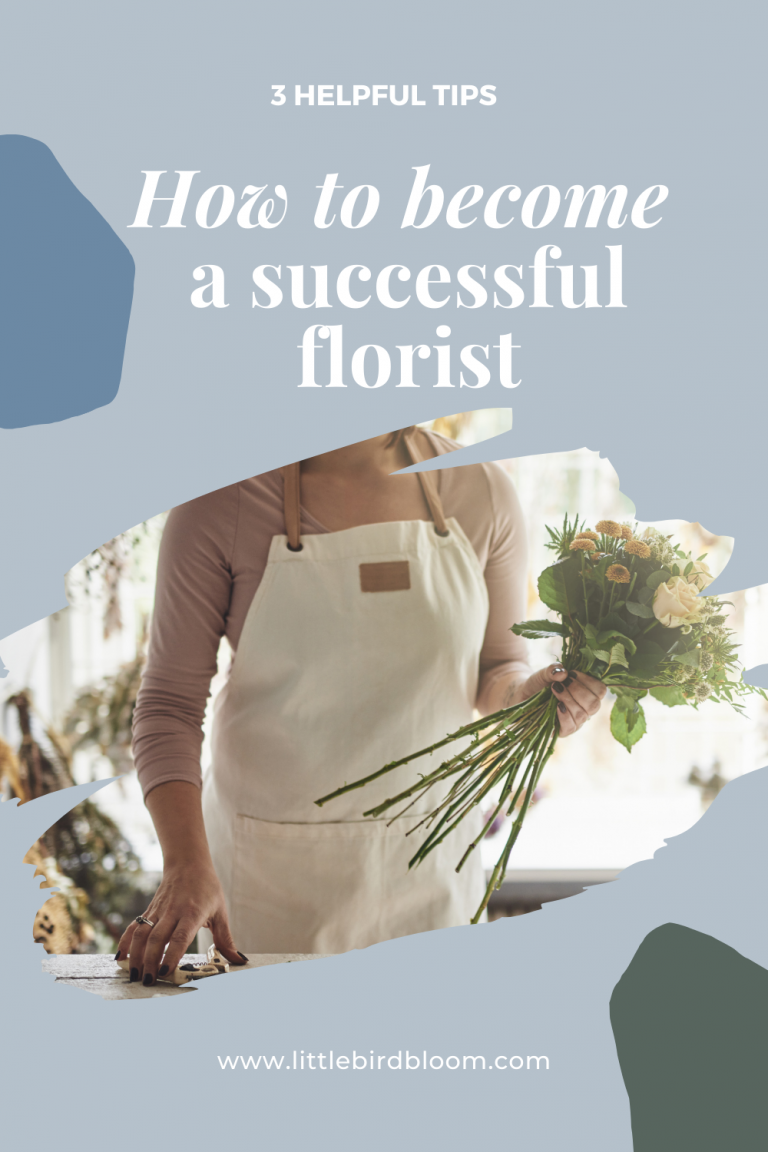 How to become a successful florist Blog Post 6 April 2021